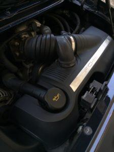 ポルシェ 911 エンジンルーム