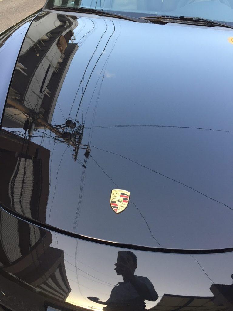 ポルシェ 911 洗車3