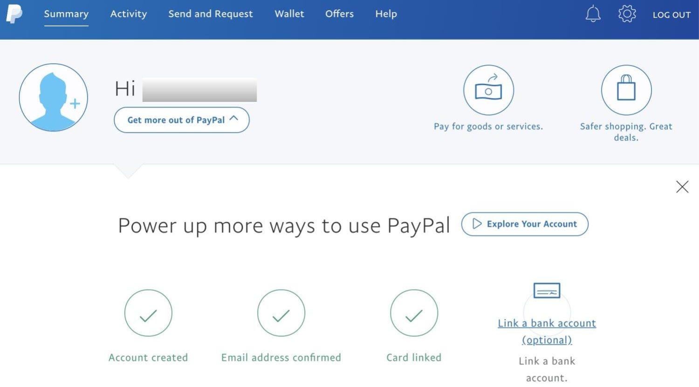 Paypal登録方法7