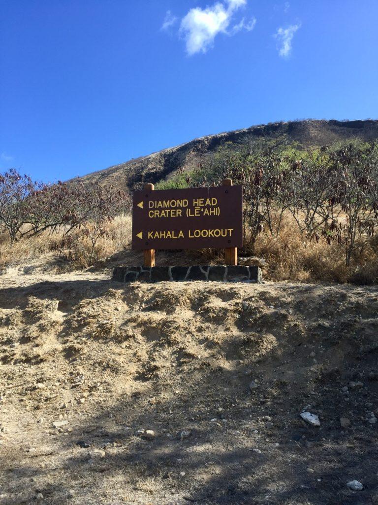 ハワイダイヤモンドヘッド登山2