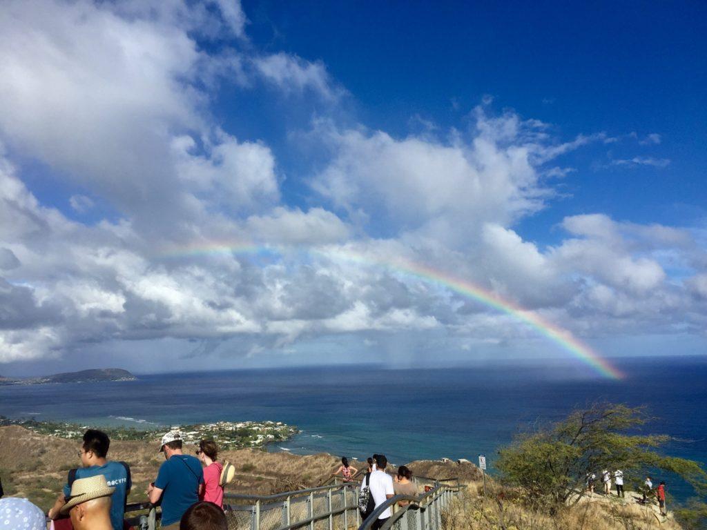 ハワイダイヤモンドヘッド登山7