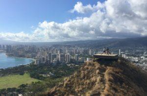 ハワイダイヤモンドヘッド登山8