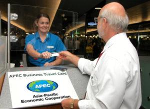 APECビジネスカードレーン